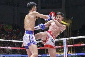 อาวุธหนักคว้าชัย ชูเจริญใส่อาวุธหนักมือเท้าเข่าศอกชนะหนึ่งล้านเล็ก